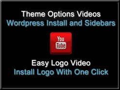 Theme Options Videos and Easy Logo Install