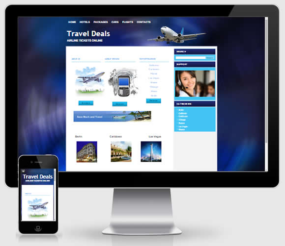 Turnkey Hotel Travel Website Theme