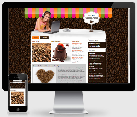 Coffee Theme 7250